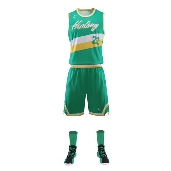 e5d3a77a9a3 Custom Any Color Sublimation Basketball Uniform Template Basketball Jersey  pictures & photos