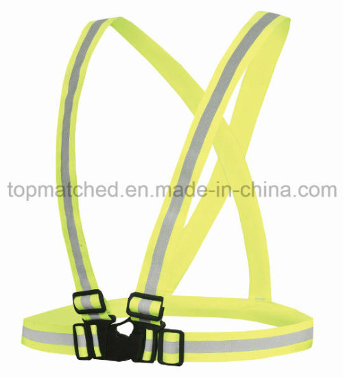 Elastic Series Sport Reflective Vest for Running Safety