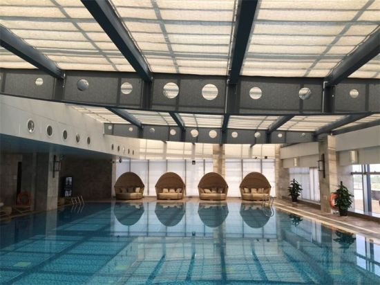 Lovely 5 Stars Hotel Indoor Swimming Pool Window Roller Shutter Blinds. Get Latest  Price