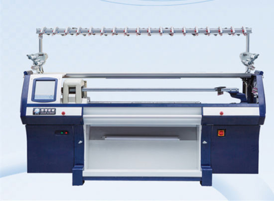 China 8g 66 Three System Auto Jacquard Knitting Machine China