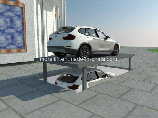 China Basement Double Platform Car Parking Lift China Car Parking