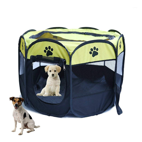 Dog Playpens Large, Pen Kennel for Dogs Puppy Cats Rabbits Small Animals, Portable Pets Tent Indoor & Outdoor Bags