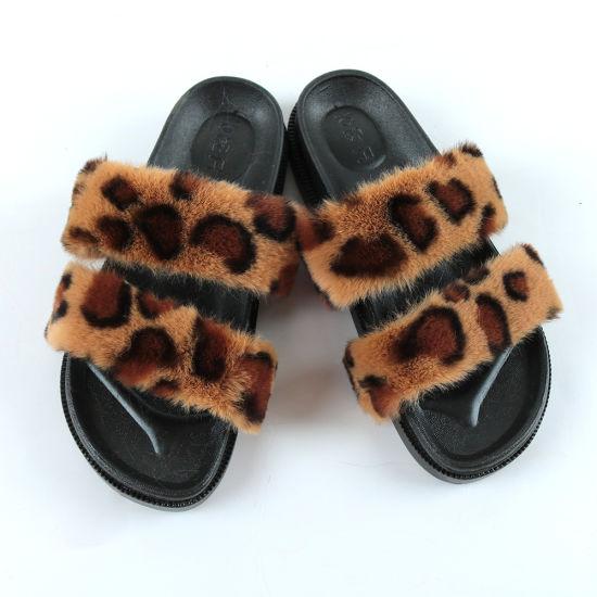 womens leopard slides