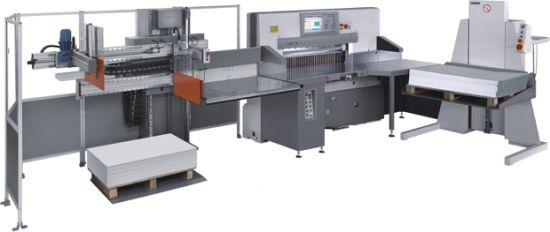 High Speed Paper Cutter Line (115 Cutting line) pictures & photos