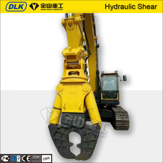 Concrete Equipment Hydraulic Shear Attachments for 15ton Excavators Zx150 pictures & photos