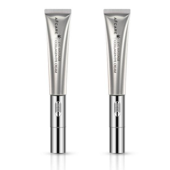 Anti Wrinkle Anti-Puffiness Dark Circles Remover Collagen Mini Electric Vibration Massager Eye Cream