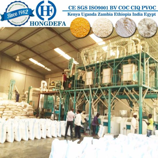 China Maize Milling Posho Flour Making Machinery pictures & photos