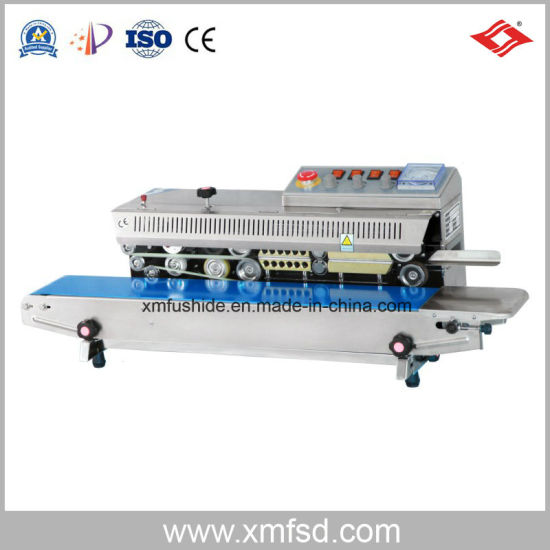Frbm-810I Continuous Sealing Machine with Ink Wheel Color Printing