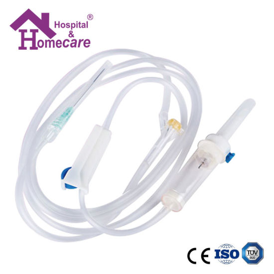 Ce and ISO Approved Disposable Infusion Set with Needle for Single Use