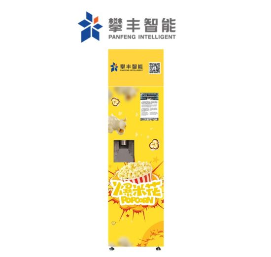 Hot Sale Electric Popcorn Vending Machine Snacks Vending Machine with CE and ISO9001 Certificates