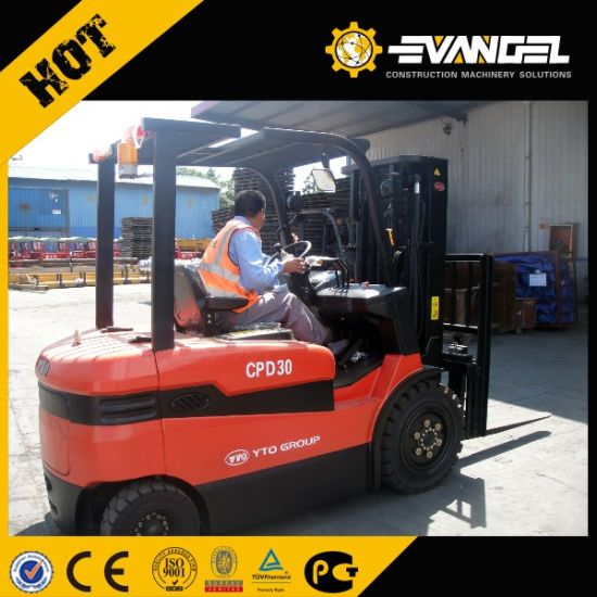 China Anhui 3 Ton Heli Forklift (CPCD30) pictures & photos