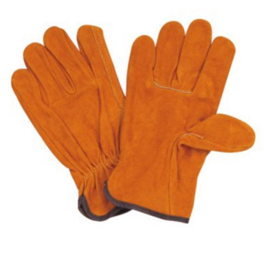 Wholesale Wear Resistant Work Leather Gloves Women