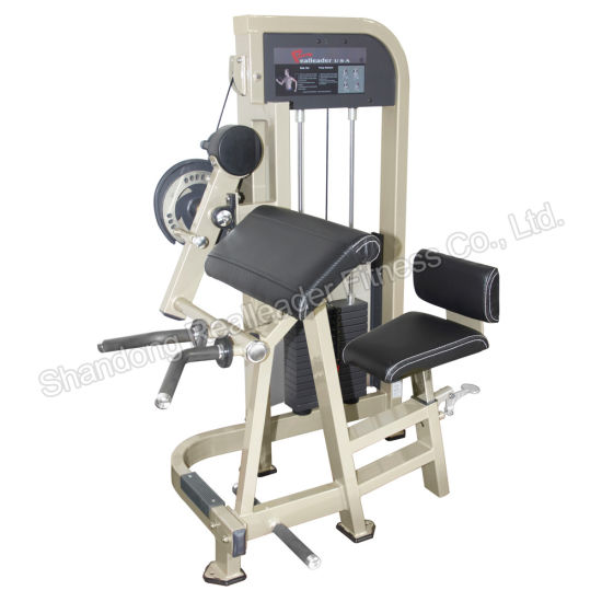 Professional Gym Equipment Seated Biceps/Triceps Curl Fitness Equipment Gym pictures & photos