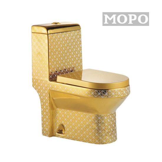 Sanitaryware Golden Bathroom One Piece High-Grade Toilet