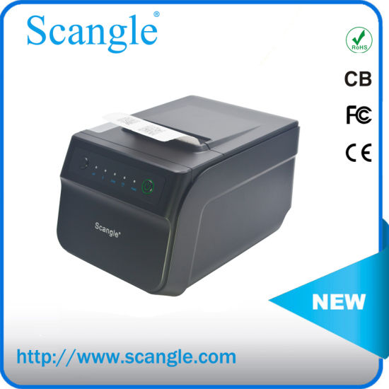 USB+LAN+RS232 80mm Thermal Receipt Printer High Speed with Bluetooth / WiFi Optional