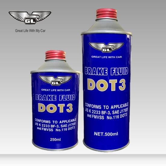 Brake and Clutch Fluid DOT Brake Fluid Break Oil DOT3