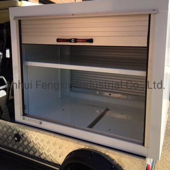 Roll up Door for Fire Fighting Trucks Sliding Door