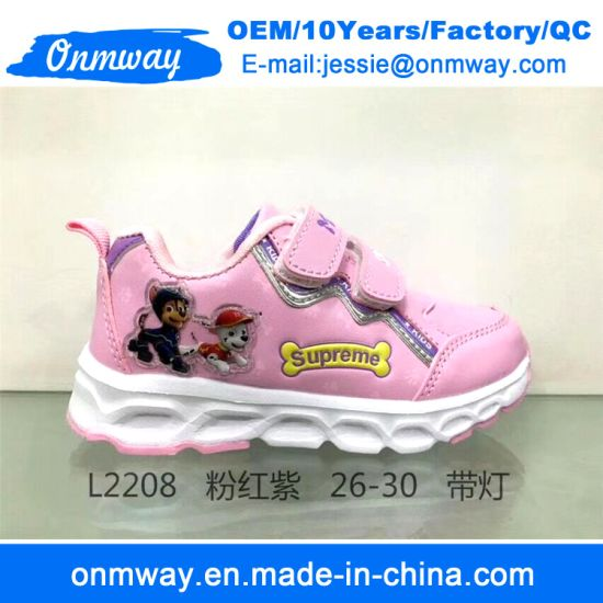 Footwear Sports Running Sneaker Shoes for Children