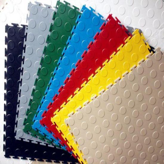 China Garage Interlocking Tile Flooring Pvc Garage Flooring High