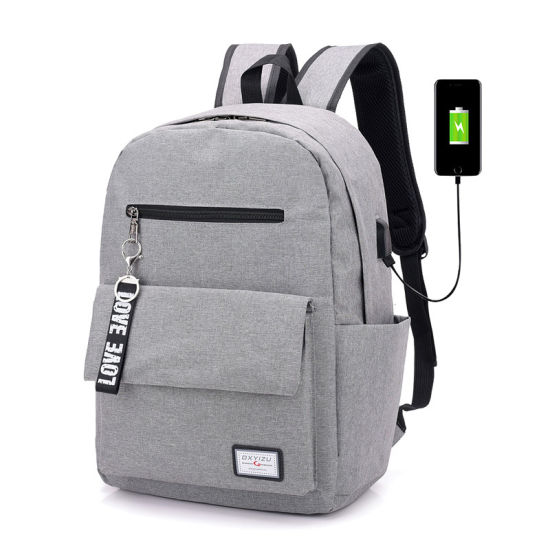 2018 Business USB Charging Laptop Backpack Men Fashion Multi-Function Travel Bag pictures & photos
