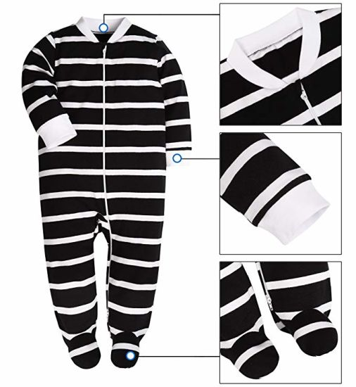 WholeSale Baby Boy/'s Autumn Winter Footed Pajamas Fleece Sleep /& Play Clothes