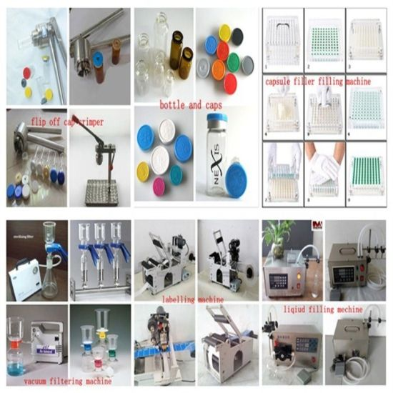 China Electric Small Solution Equipment Vacuum Pump Filter