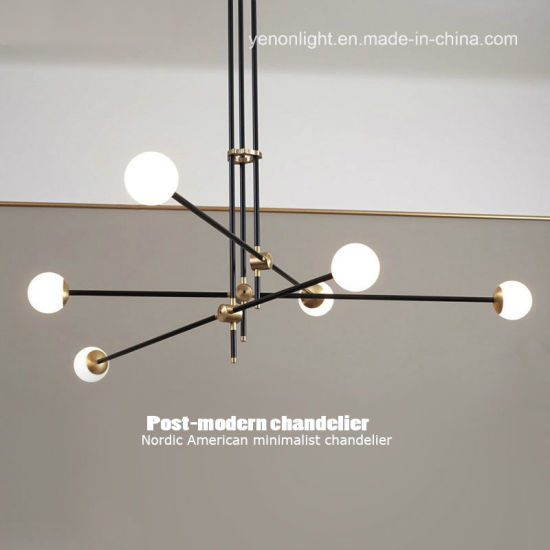 Bulb Decorative Chandelier Modern Pendant Lamp