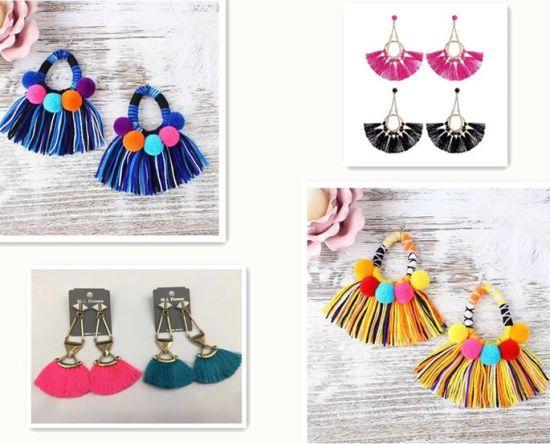High Quality Fashion Design Tassel Fringe for Earrings Decoration