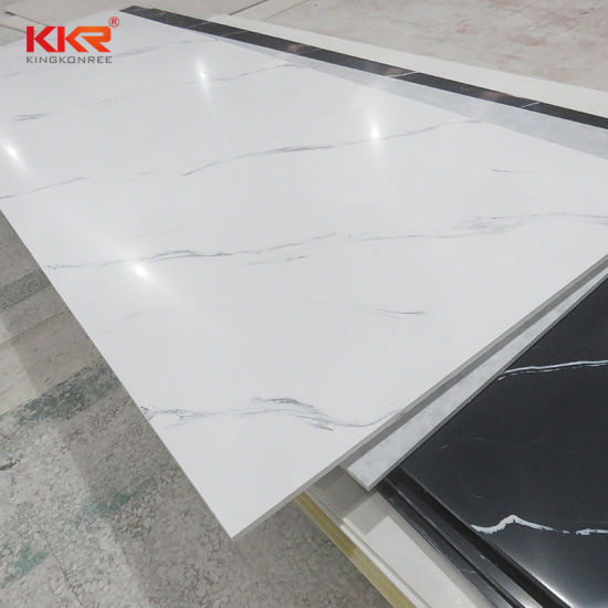 Seamless Joint Corian Acrylic Solid Surface Sheet Artificial Stone Marble