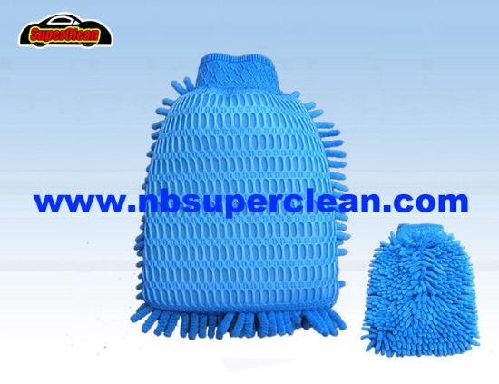 China Microfiber Soft Car Wash Mitt Cn1410 China Microfiber Car Wash Glove And Car Wash Pad Price