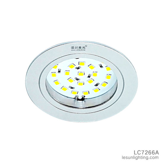 DC12V 2.2W LED Ceiling Down Light Cabinet Light for Showcase LC7266A