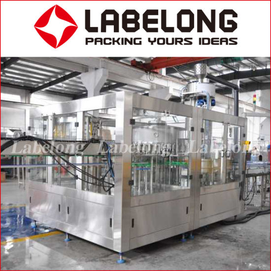 Automatic 5000bph Deionized Water/Distilled Water Pet/Glass Bottle Filling/Bottling/Packing Machine