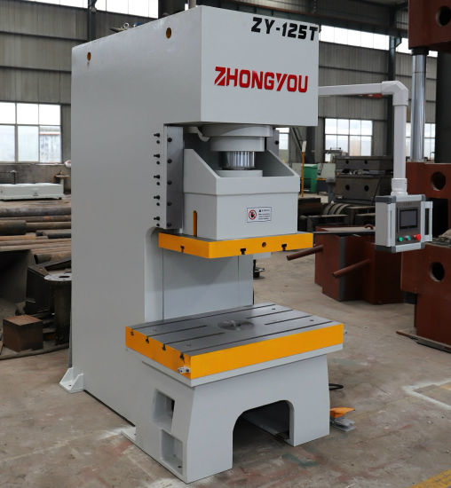China 125 T C-Type PLC Hydraulic Punch Press Machine Price