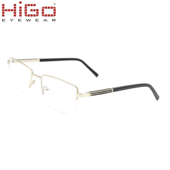 Man Model China Stock Metal Optical Frame with Good Price pictures & photos