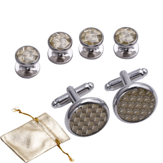 China Factory Directly Sell High Quality Plain Cufflinks for Sale