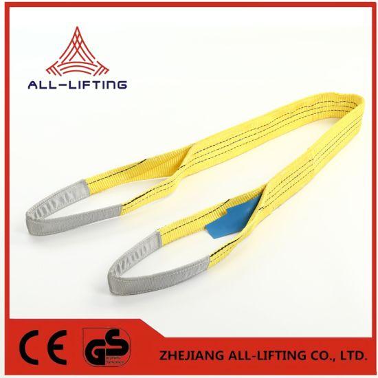 5t Double Flat Lifting Belt Polyester Webbing Sling