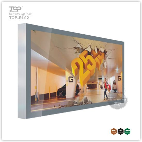 Wall-Mounted Scorlling Light Box for Indoor Advertising pictures & photos