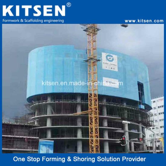 Safety Construction Self Climber Electric Lifting Platform Scaffold