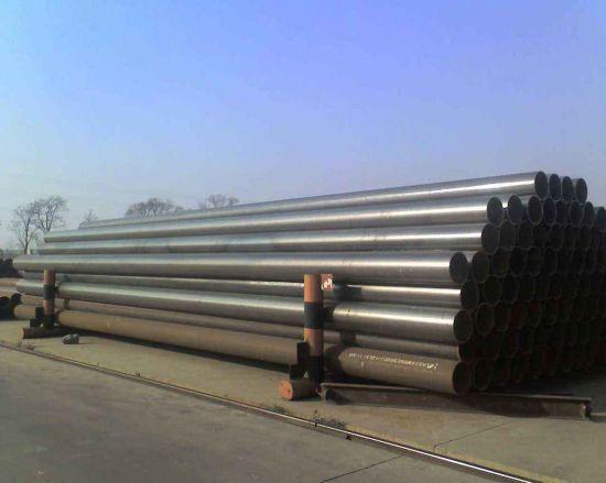 Ms Carbon Steel API 5L/ASTM A106/A53 Gr B Steel Sch 40 Seamless Black Steel Pipe