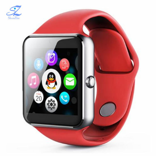 Bluetooth Q7s Plus Smart Watch Smartwatch Women/Men Phone Clock Call SIM TF Camera Clock Support Bt 4.0 for Ios Android Round Watch pictures & photos