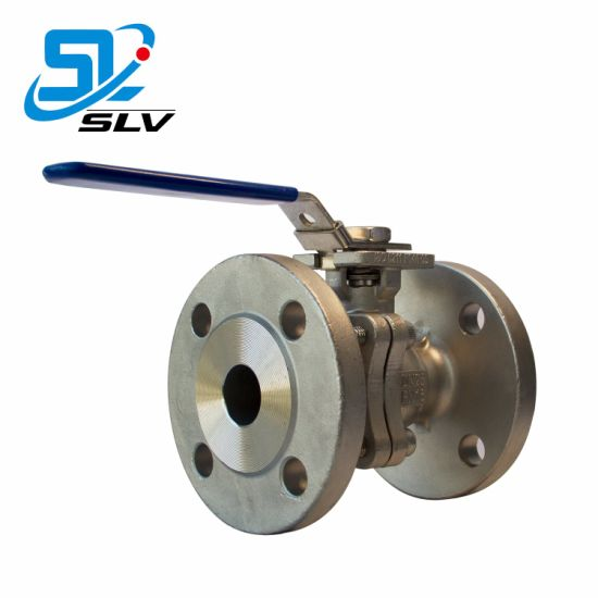 SUS304/316/316L CF8/CF8m Stainless Steel Flanged Ball Valve pictures & photos