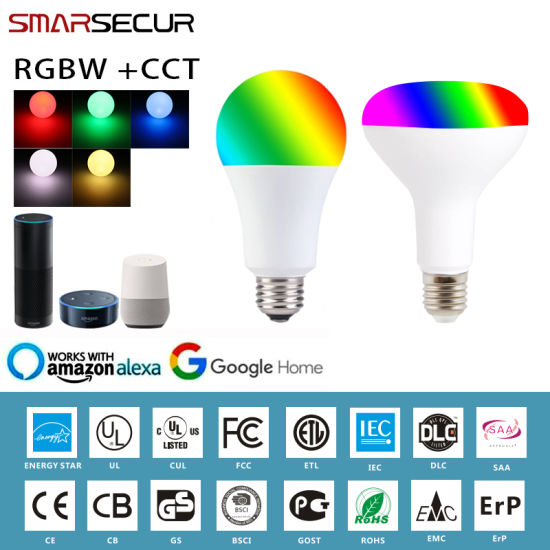 E27 Smart WiFi Bulb RGB RGBW Dimmable LED Bulb Light Bulb Works with Tuya Smart Life pictures & photos