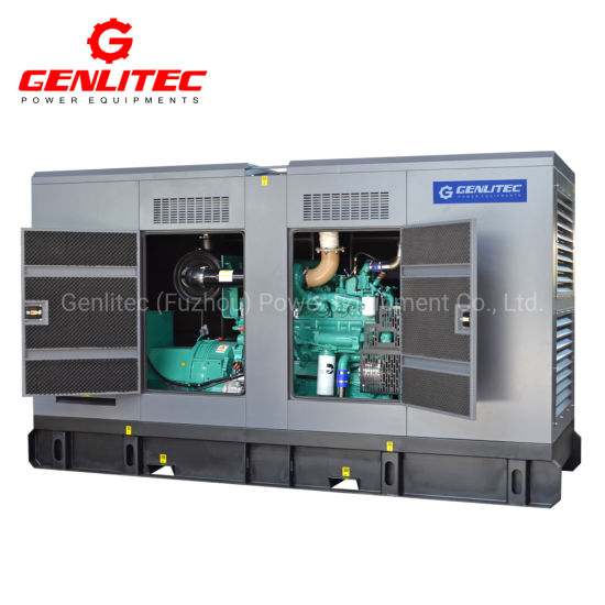 Cummins Diesel Engine Nta855-G2a Soundproof 280kw/350kVA Power Generator Price pictures & photos