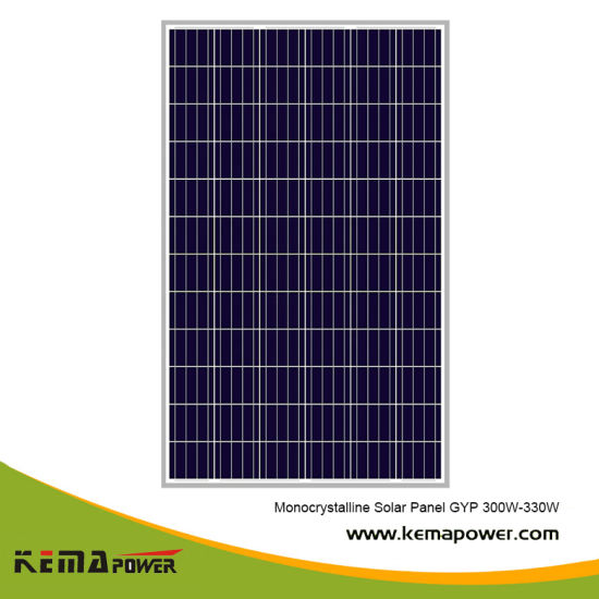 Gyp330W Grade a Highest Efficiency Super Power Monocrystalline Solar Panel pictures & photos