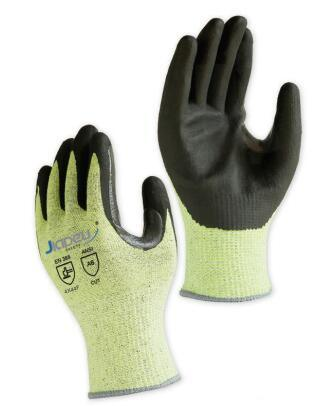 Hardwearing Durable Quality 13 Gauge ANSI Cut Level A6 Cut Resistant Working Safety Gloves with Foam Nitrile Coated