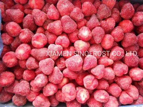 IQF Whole Strawberry, Frozen Strawberry with Sugar, 4+1 Frozen Strawberry, Frozen Strawberries Puree, Grade a, Grade a+B, Grade B, American No. 13 Variety