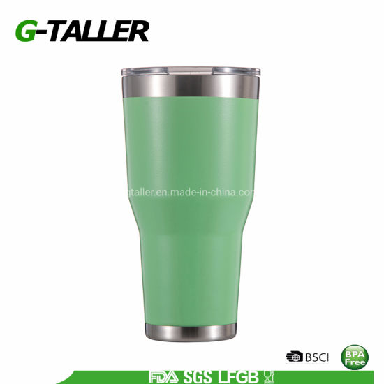 Double Wall Stainless Steel Vacuum Insulated Tumbler with Straw