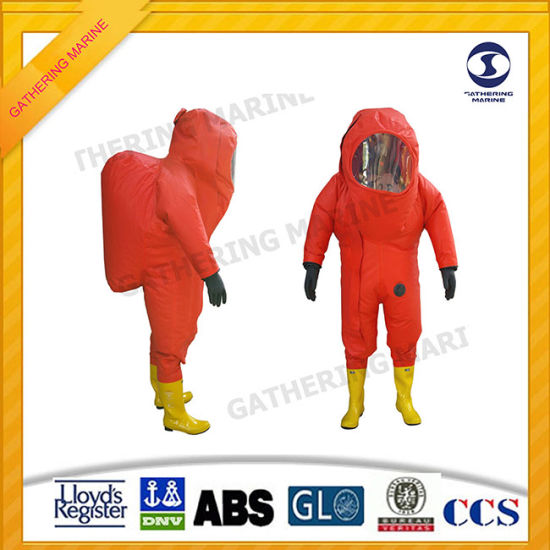 Totally Enclosed Heavy Type Chemical Protective Suits