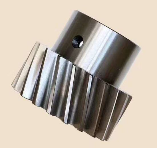 Transmission Gear Helical Gear Precision Gear for Spring Machinery