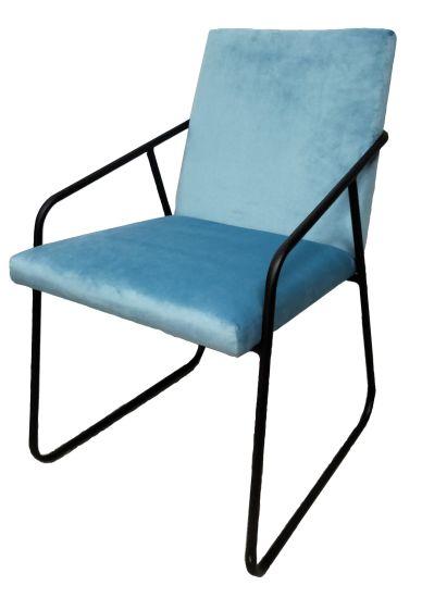 Custom Modern Hotel Fabric Dining Chair Living Room Furniture